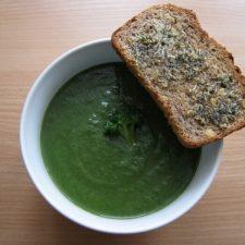 Zupa krem brokułowo-szpinakowa