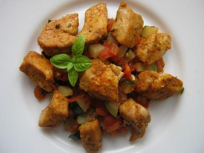 Kurczak z ratatouille (w wersji okrojonej)