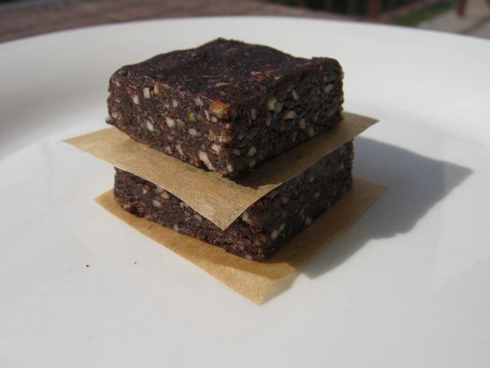Brownies bez pieczenia