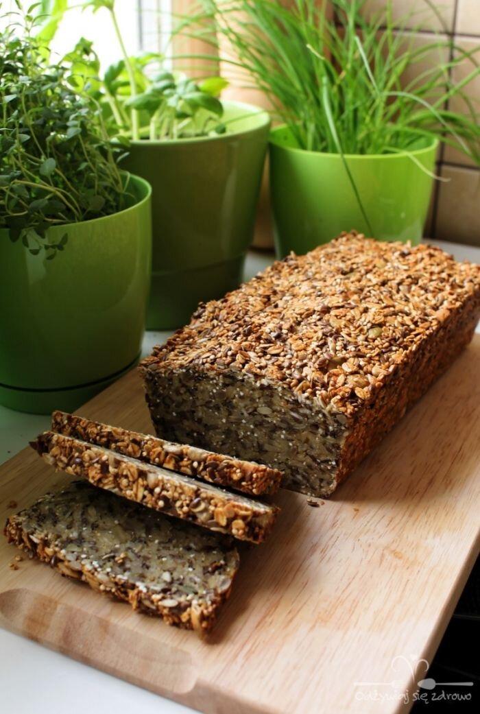 Chleb ziarnisty bez mąki