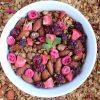 Domowa granola z owocami