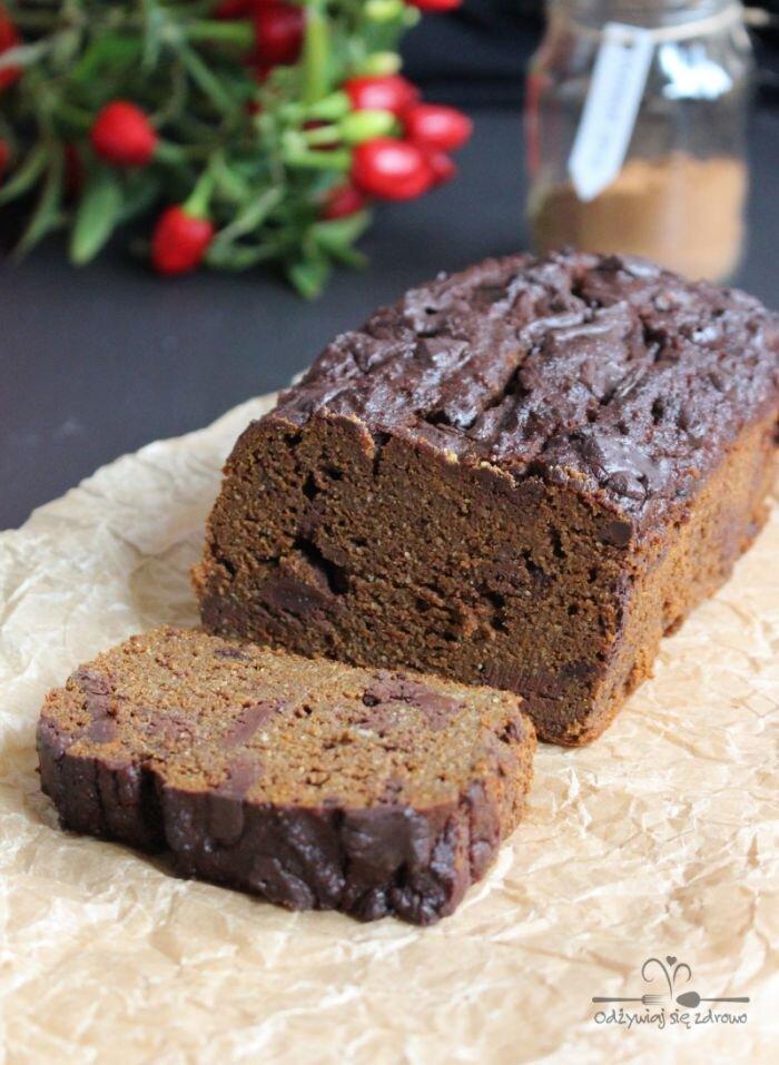 Podwójnie czekoladowe ciasto dyniowe