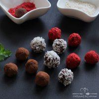 Trufle czekoladowo-kokosowe