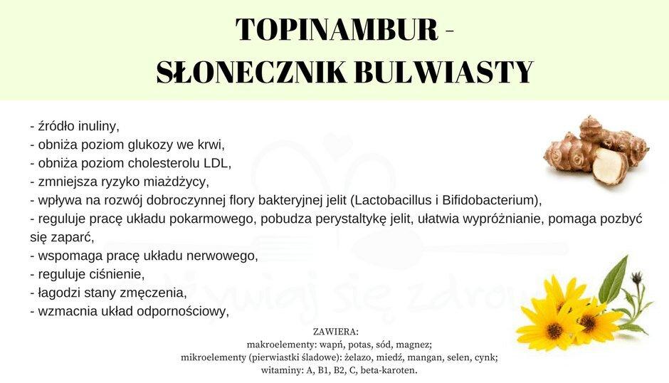 Właściwości odżywcze topinamburu