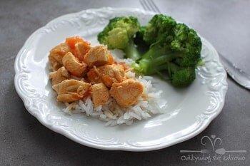 Kurczak w curry - dieta w insulinooporności (IO) - przykładowy jadłospis