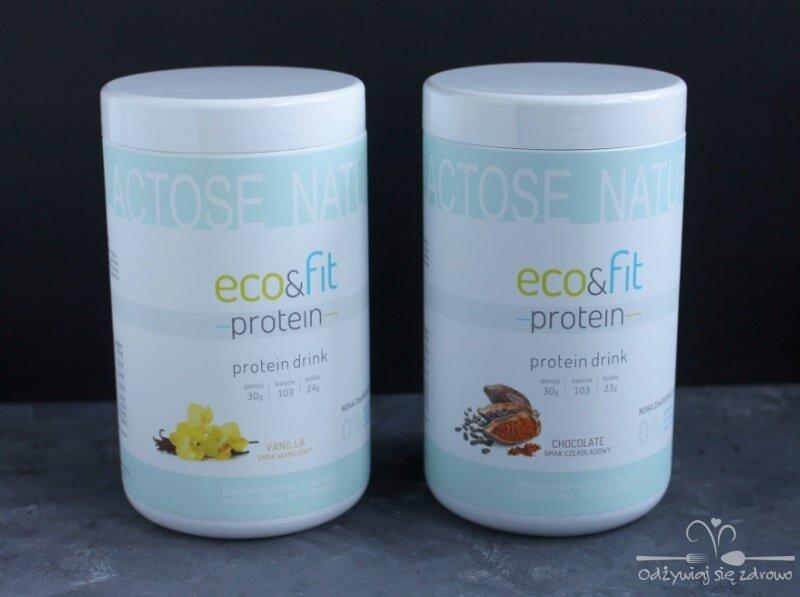 Koktajle proteinowe Eco&Fit