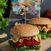 Burgery z falafelami
