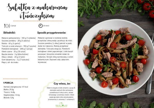 E-book Zdrowe posiłki do pracy, szkoły i nie tylko - przykładowa strona