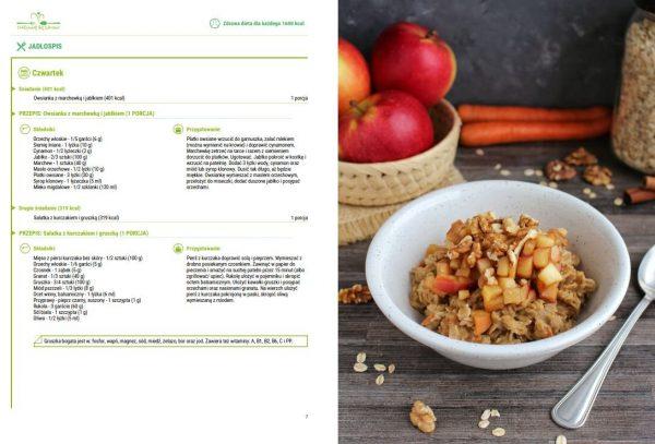E-book Zdrowa dieta dla każdego przykładowa strona jadsłopisu