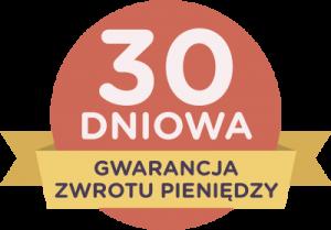 30 dniowa gwarancja zwrotu pieniędzy