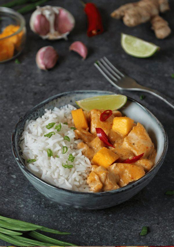 Curry z kurczakiem i mango2
