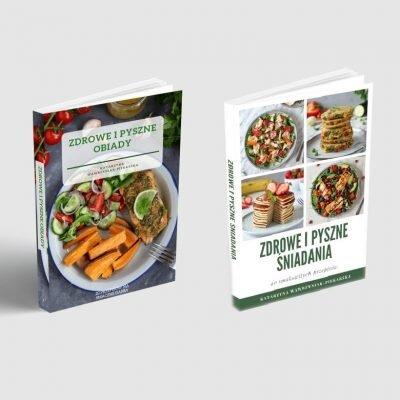 """Pakiet E-booków – """"Zdrowe i pyszne obiady"""" oraz """"Zdrowe i pyszne śniadania"""""""