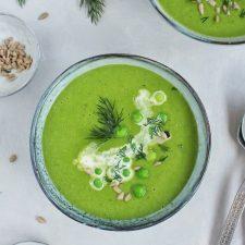 Ekspresowa zupa krem z groszku