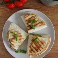 Tortille z dodatkami