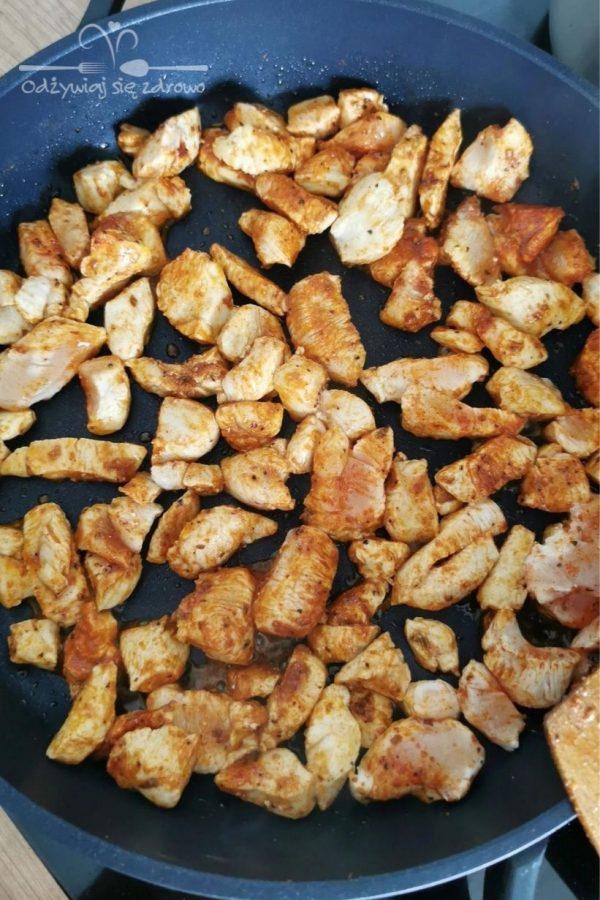 Smażenie kurczaka