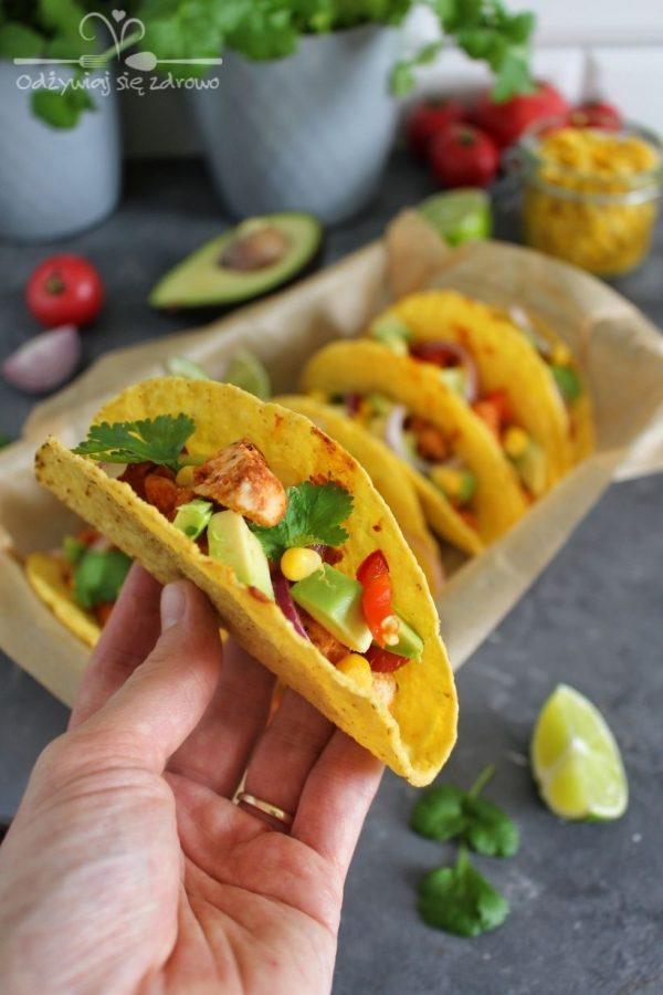 Tacos z kurczakiem - końcowa postać